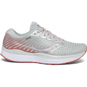 saucony Guide 13 Shoes Women sky grey/coral